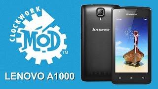 Install CWM / TWRP on Lenovo A1000