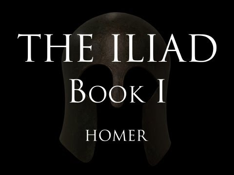 The Iliad - Book I - Homer (Alexander Pope translation)