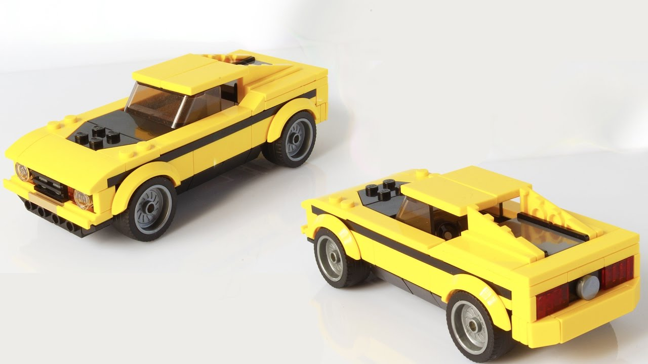 Lego mustang instructions
