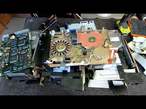 Scrapping Quantum Tape Drives for Gold Recovery Boards