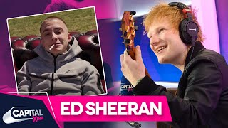 Ed Sheeran's Acoustic Cover Of ArrDee's 'Oliver Twist' | Capital XTRA