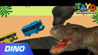 Dinosaur Song l Tyrannosaurus Song l 3D Dinosaur Song l Tayo the Little Bus