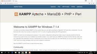 Gambar cover Cara Install Xampp (Localhost) Di Windows