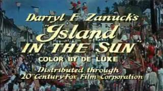 Island In The Sun (1957) Joan Collins, Stephen Boyd, James Mason - Trailer