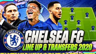 CHELSEA JANUARY TRANSFERS TARGETS 2020 & LINE UP 2020 | CONFIRMED TRANSFERS | w HAZARD & SANCHO🚀🏆