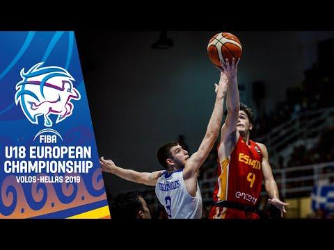 Greece v Spain - Full Game