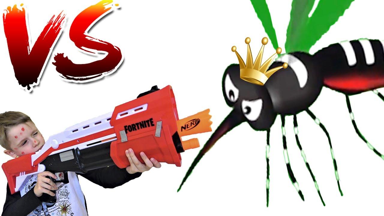 Макс против комаров  Забавная история для детей | mosquitoes in our house