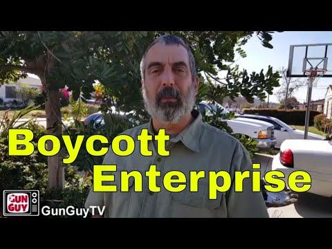 Boycotting Enterprise Rental Car & Others #BoycottEnterprise
