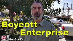 Boycotting Enterprise Rental Car & Others #BoycottEnterprise