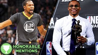 Kevin Durant BANNED from Russell Westbrook MVP Party -HM