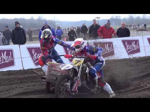 Belgian championship sidecars Moerbeke waas