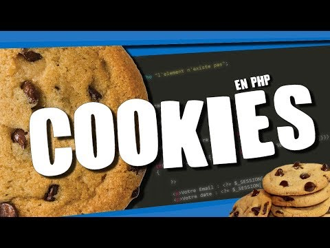 CREER UN SITE WEB ? #14 - LES COOKIES EN PHP