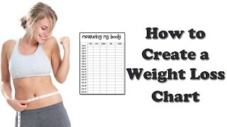 Weight Loss Programs - How to Create a Weight Loss Chart