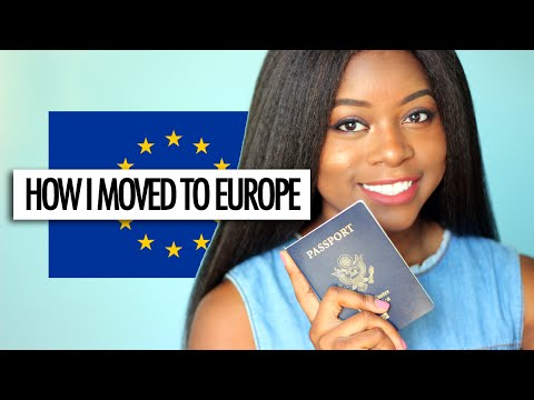 HOW I MOVED TO EUROPE | Visas, Permit of Stays etc