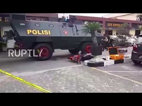 Indonesia: Police on high alert after one killed in attack on Riau headquarters