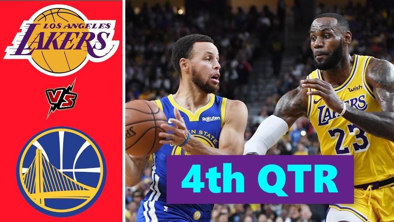 Download Los Angeles Lakers vs. Golden State Warriors Full Highlights 4th Quarter | NBA Season 2021