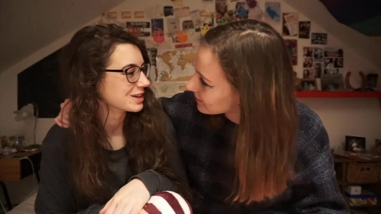 Saskia And Lily Cute Lesbian Couple 16
