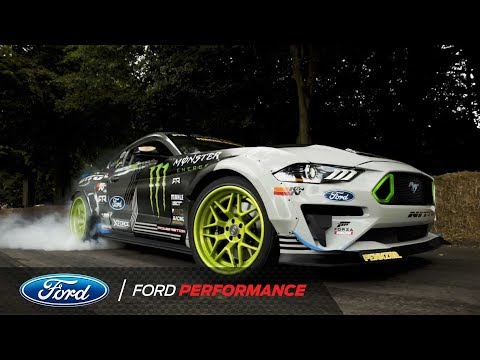 Ford Mustang RTR Hill Climb Goodwood Festival of Speed 2018 | Ford Performance