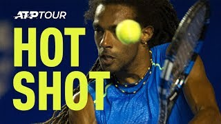 Dustin Brown Behind The Back Hot Shot Bergamo Challenger 2016 thumbnail