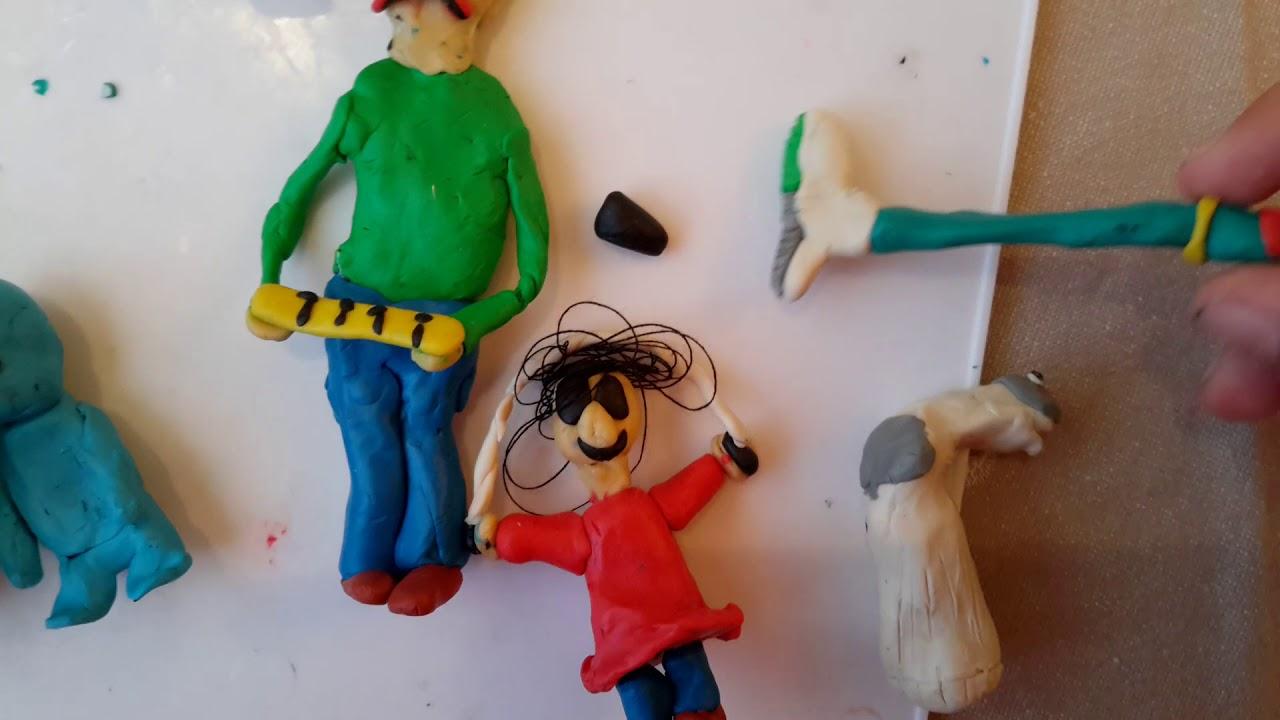 европейская картинки пластилиновых фигурок из игр маска поверх, неё