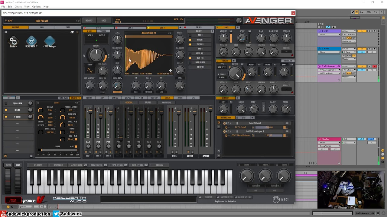 Adding Attack To Your Trance Synths With VPS Avenger