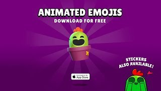 Brawl Stars Animated Emojis!
