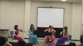 平原綾香版のジュピターを弦楽四重奏で。 バイオリン 中川香 他 http://...