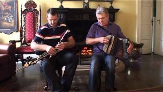 Peter Carberry accordion Padraig McGovern Uilleann pipes