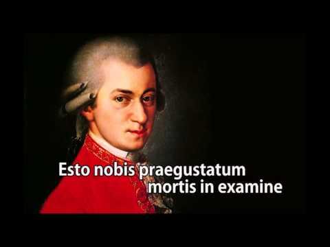 Ave Verum Corpus K 618 in HD from Wolfgang Amadeus Mozart with Lyrics