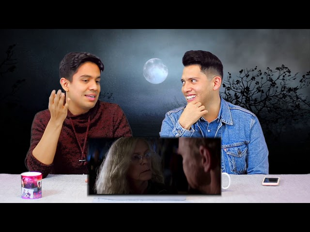 "Video Reacción al trailer de ""Halloween"""