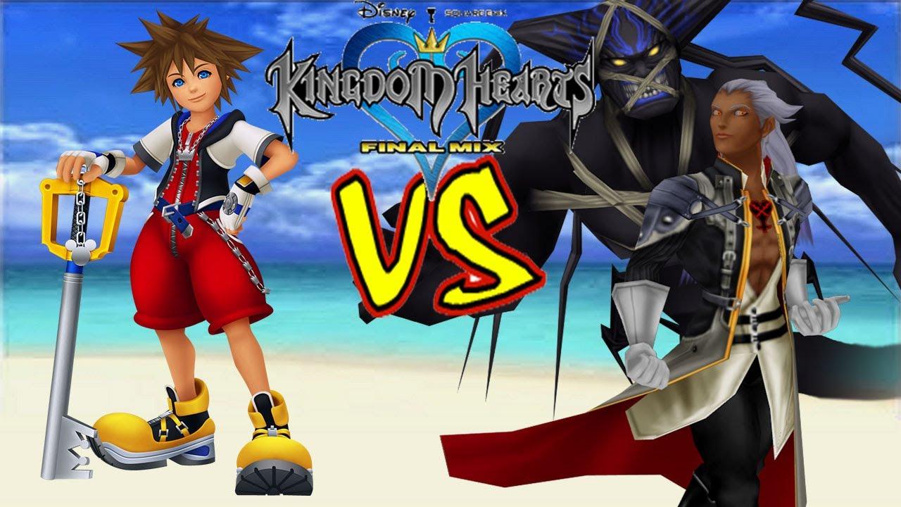 Kingdom Hearts HD 1.5: Final Mix - Sora vs Ansem, Final Boss ...