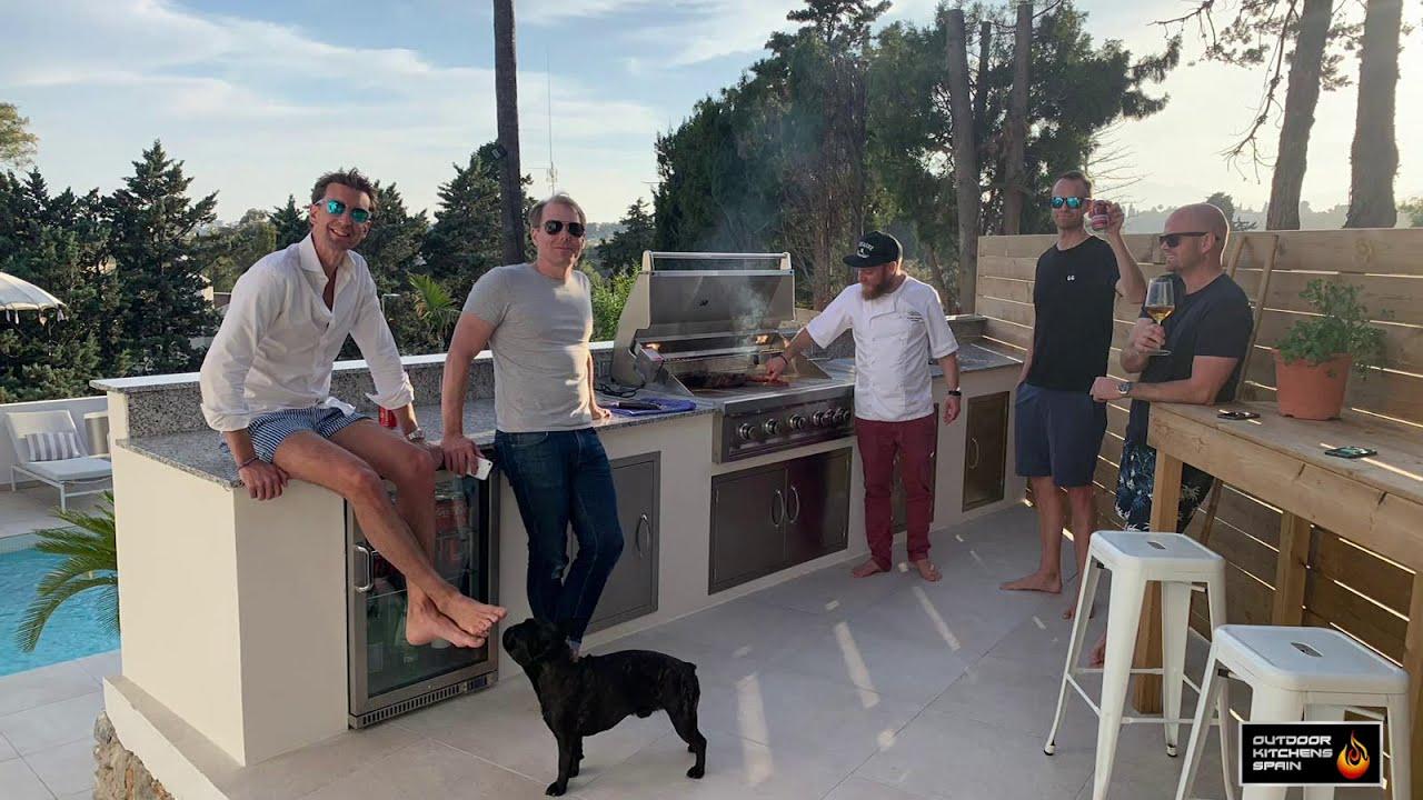 Custom Bespoke Outdoor Kitchens In Spain Youtube