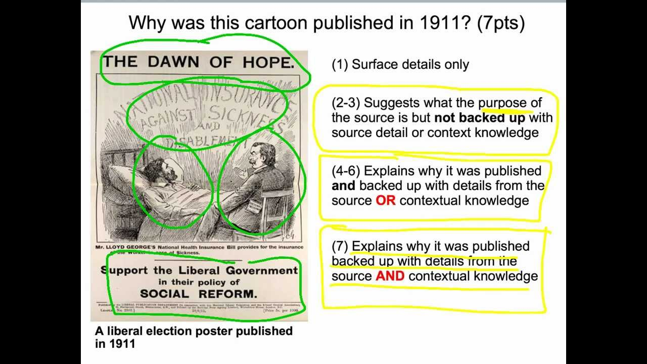 liberal reforms cartoon analysis the dawn of hope