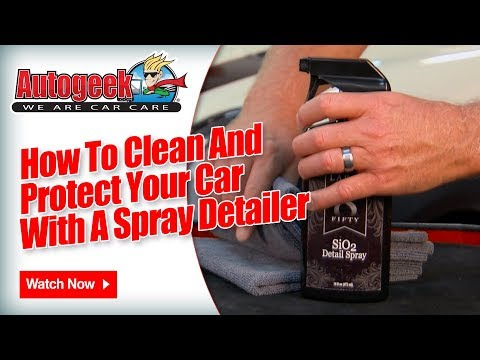 How to clean & protect your car with a detail spray – Pinnacle Black Label SiO2 Detail Spray