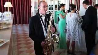 Саксофон на велкам ресторан отель Европа ресторан спб
