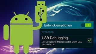 USB Debugging Ein oder Ausschalten