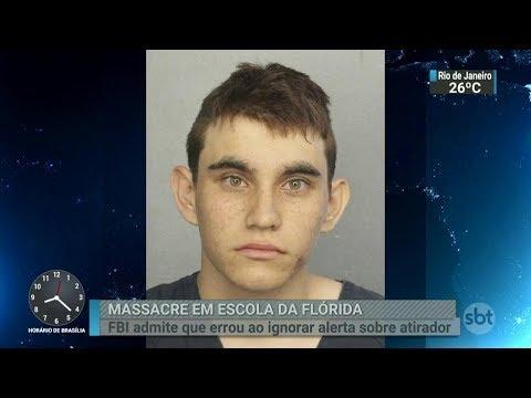 FBI admite falha ao ignorar alerta sobre atirador da Flórida   SBT Brasil (16/02/18)