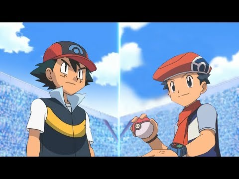 Pokémon Battle USUM: Sinnoh Ash Vs Lucas (Pokemon Sinnoh League)