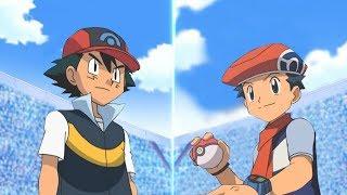 Pokémon Battle USUM: Sinnoh Ash Vs Lucas (Pokemon Sinnoh League)