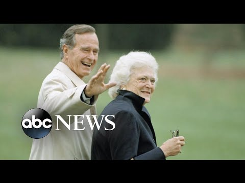 Thousands pay respect to Barbara Bush at her funeral in Houston