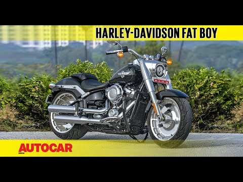 2018 Harley-Davidson Fat Boy   First Ride Review   Autocar India
