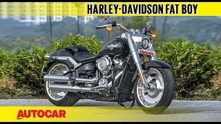 2018 Harley-Davidson Fat Boy | First Ride Review | Autocar India