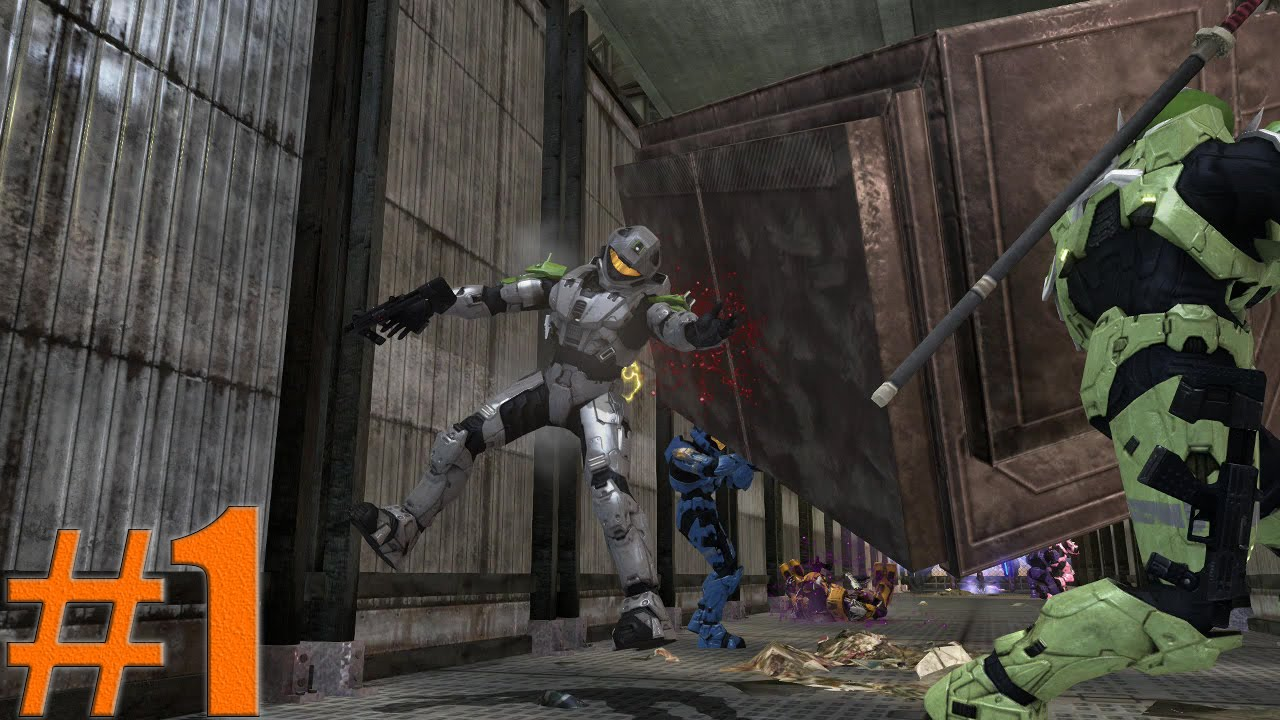 Halo 3 Map of the Week #1 - Trash Compactor