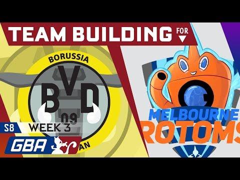 GBA S8 Teambuilder | Week 3 - VS Melbourne Rotoms w/ El Scizor