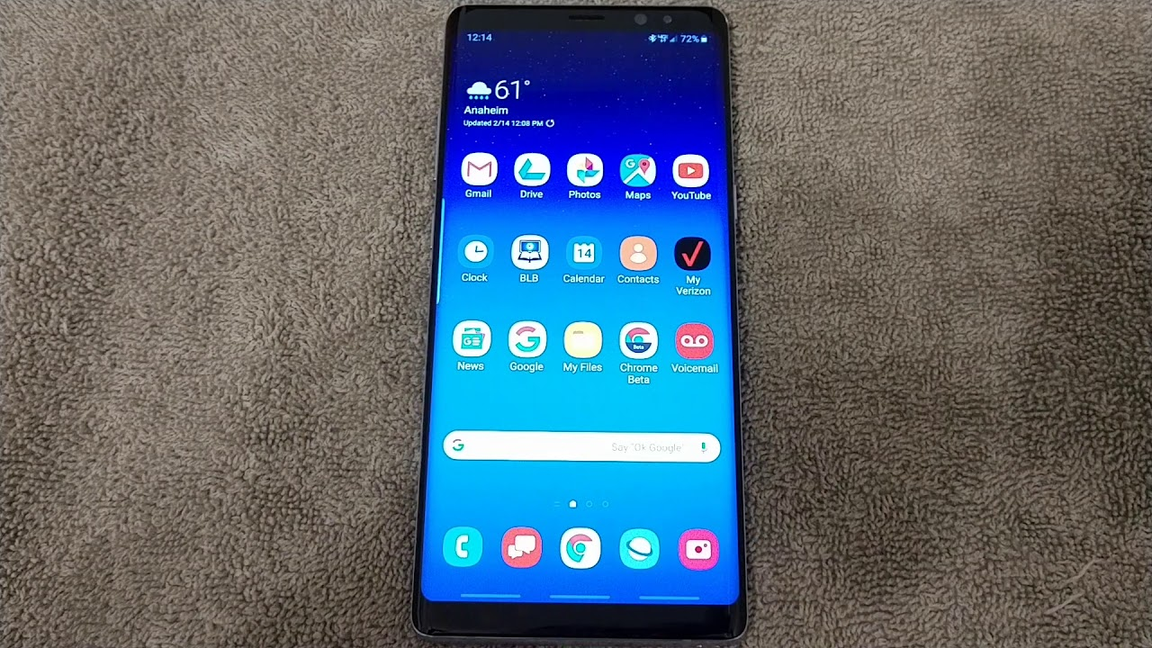 Galaxy Note8 Android Pie Beta - Questions Answered