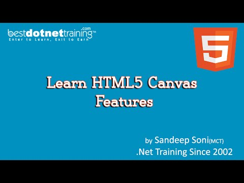 HTML5  Tutorial - 7 – HTML5 Canvas New Features