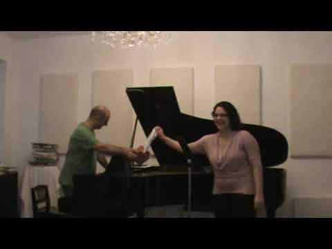 Voix NY Series 001  Masterclass with Mikhail Hallak- Soprano Sara Tavakoli