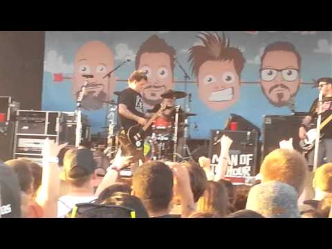 Bowling For Soup Warped Tour 2014