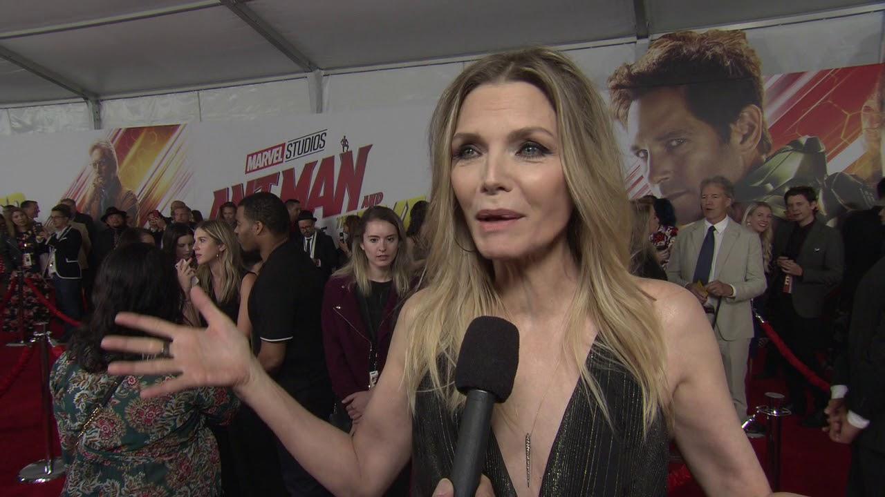 e3e6b60a8010d Ant Man and the Wasp LA Premiere - Itw Michelle Pfeiffer (official video)