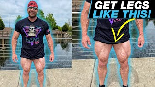 Back Squats with BANDS?! - BAND-ONLY Leg Workout - Home Gym Workout Day 11